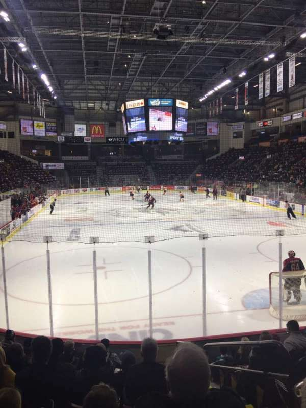 WFCU Centre, section: 110, row: I, seat: 2