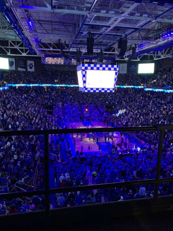Rupp Arena, section: 241, row: C, seat: 3
