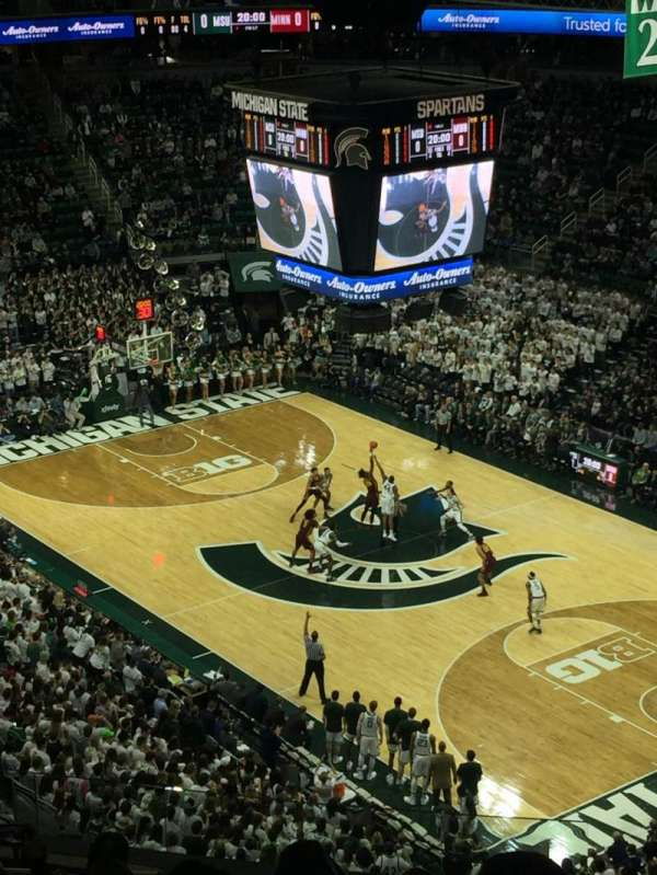 Breslin Center, section: 205, row: 14, seat: 108