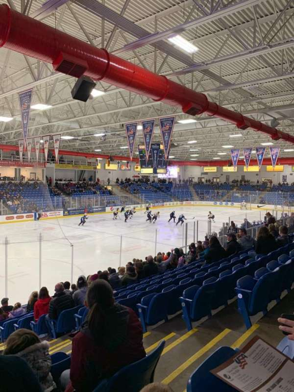 USA Hockey Arena, section: 105, row: N, seat: 4