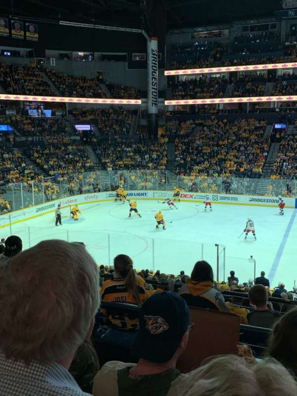 Bridgestone Arena, section: 115, row: L, seat: 7