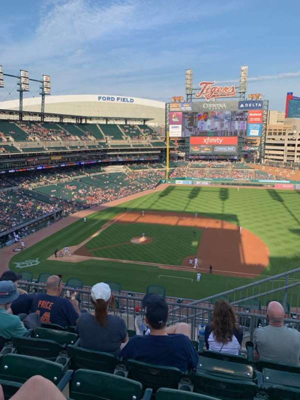 Comerica Park, section: 321, row: 5, seat: 6