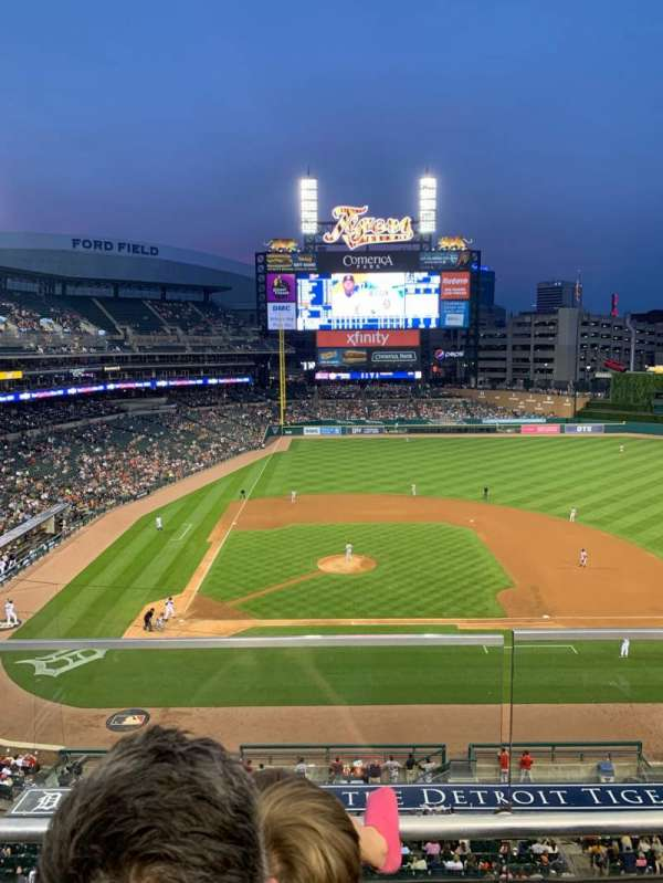 Comerica Park, section: 323, row: C, seat: 5