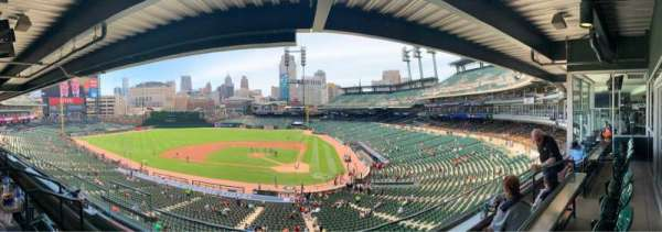 Comerica Park, section: Suite 123, row: 2, seat: 5
