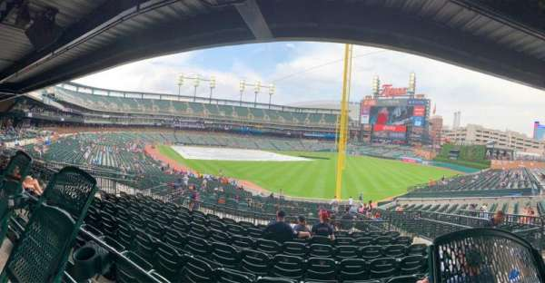 Comerica Park, section: 112, row: 44AC, seat: 7