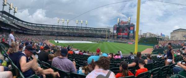 Comerica Park, section: 112, row: 27, seat: 13