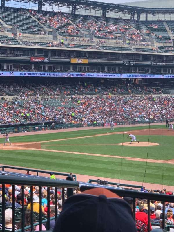 Comerica Park, section: 118, row: C, seat: 8