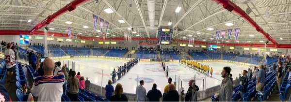 USA Hockey Arena, section: 103, row: K, seat: 4