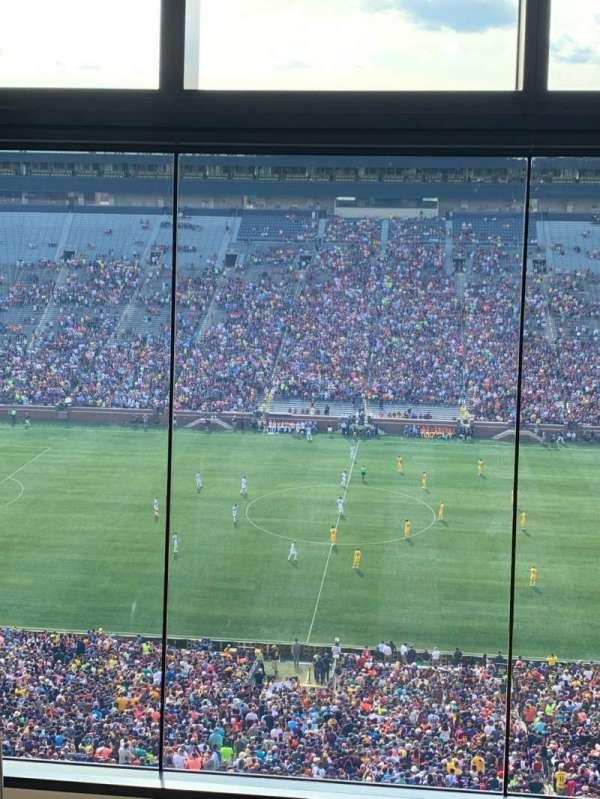 Michigan Stadium, section: 411E, row: 5, seat: 2