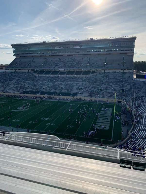 Spartan Stadium, section: 105, row: 10, seat: 25