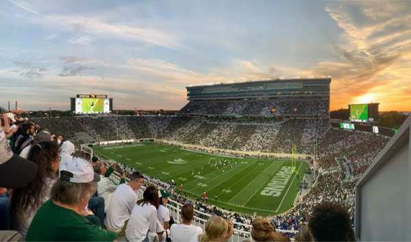 Spartan Stadium, section: 105, row: 5, seat: 1