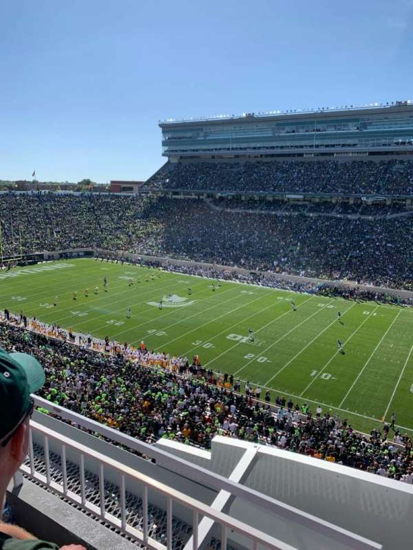 Spartan Stadium, section: 106, row: 2, seat: 1