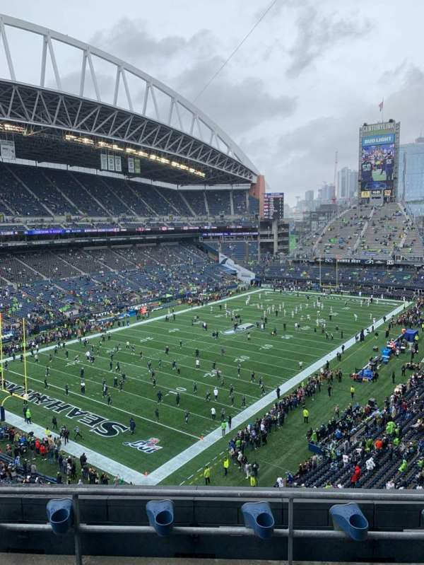 CenturyLink Field, section: 317, row: C, seat: 4