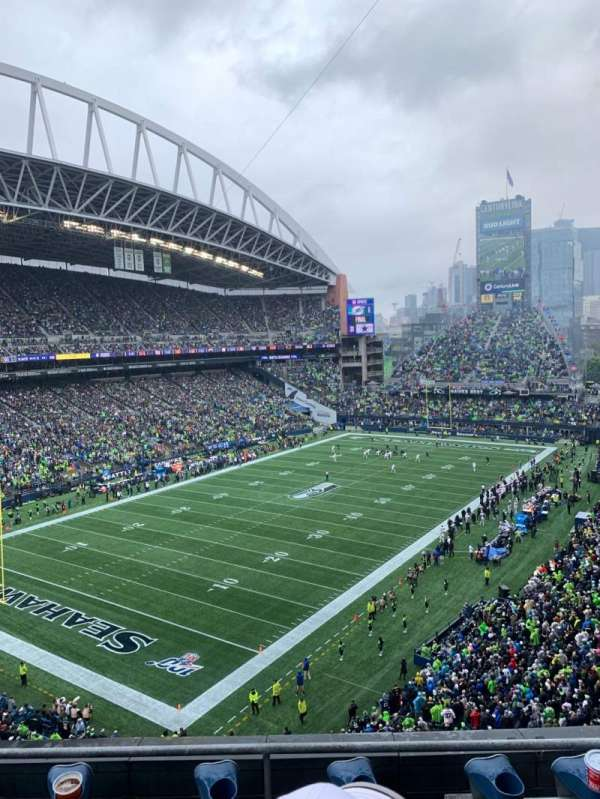 CenturyLink Field, section: 317, row: C, seat: 3