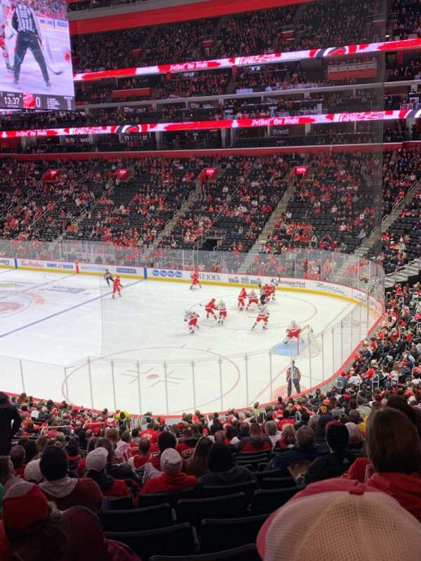 Little Caesars Arena, section: 118, row: 27, seat: 13