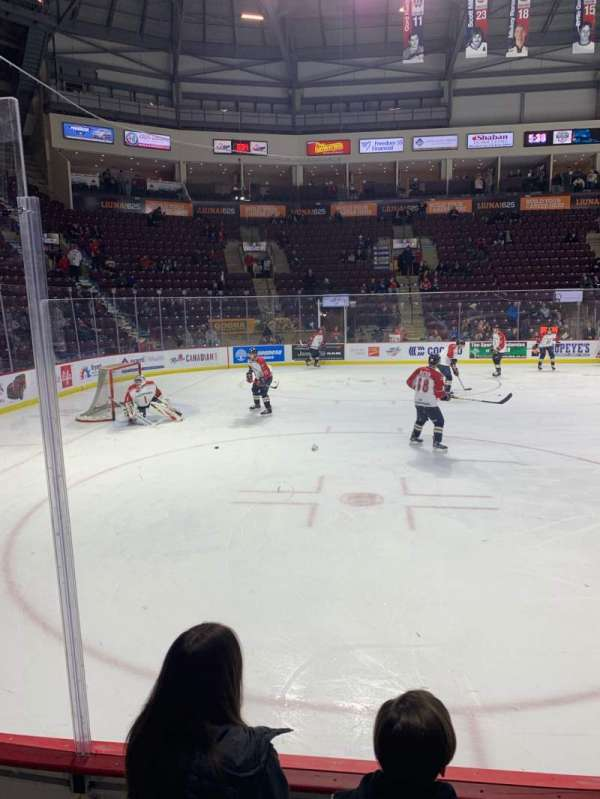 WFCU Centre, section: 106, row: C, seat: 4