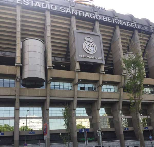 Santiago Bernabéu Stadium, section: Exterior