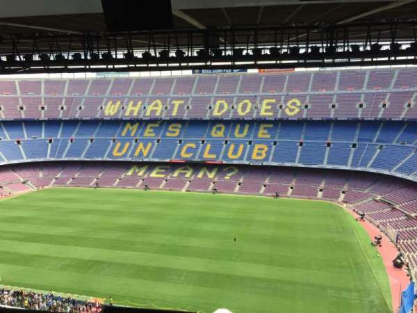 Camp Nou, section: 309