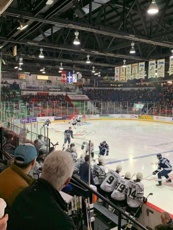 Centre Robert Guertin, section: 4, row: G, seat: 14