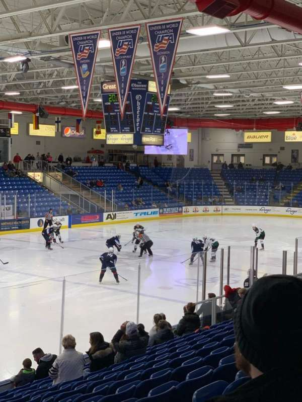 USA Hockey Arena, section: 105, row: N, seat: 5