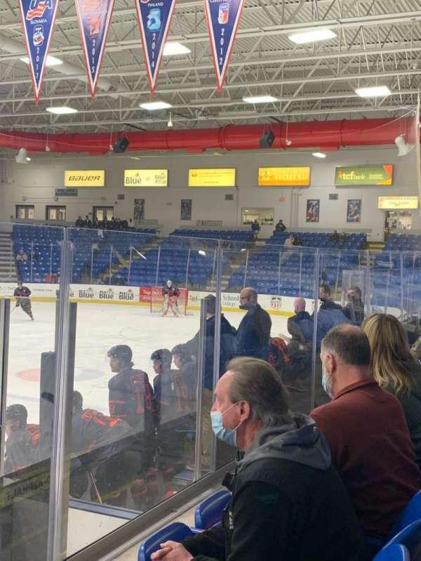 USA Hockey Arena, section: 103, row: F, seat: 9