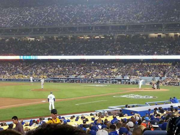 Dodger Stadium, section: 31FD, row: S, seat: 5