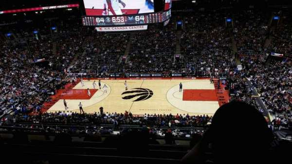 Scotiabank Arena, section: 308, row: 6, seat: 19