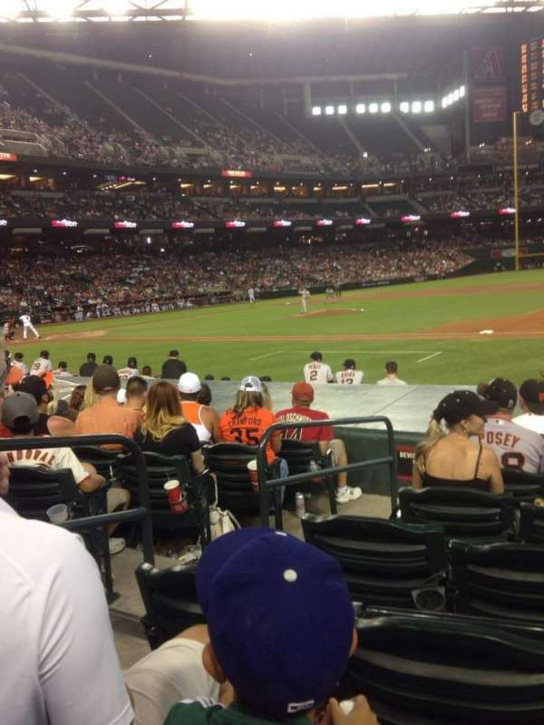 Chase Field, section: C, row: 12, seat: 10