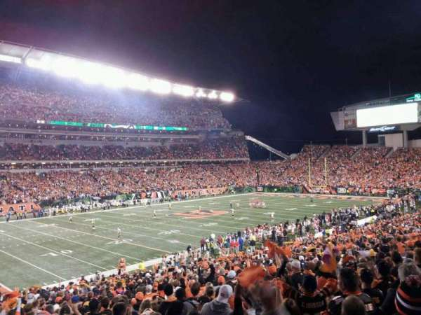 Paul Brown Stadium, section: 116