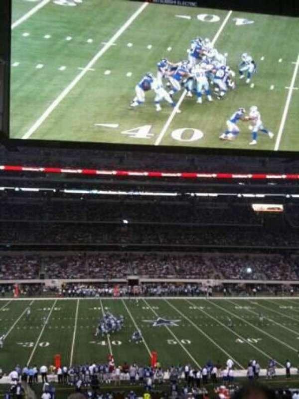 AT&T Stadium, section: C212