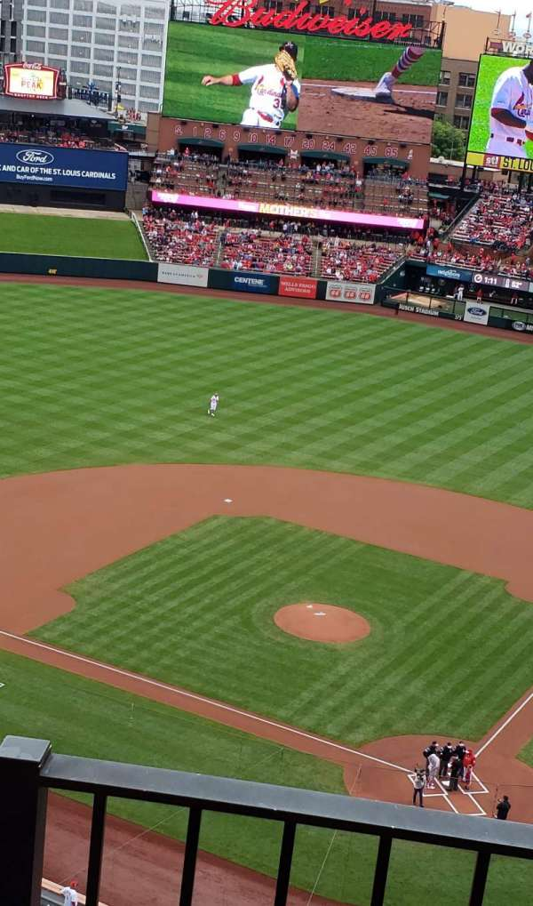 Busch Stadium, section: 452, row: 2, seat: 18