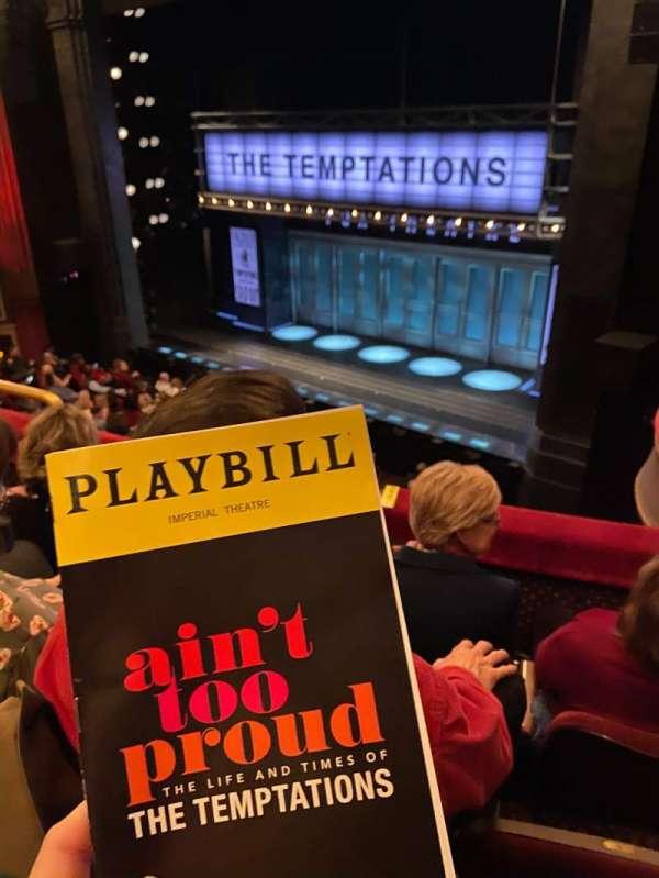 Imperial Theatre, section: MezzR, row: C, seat: 5