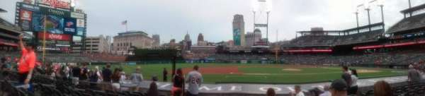 Comerica park, section: 134, row: 13, seat: 6