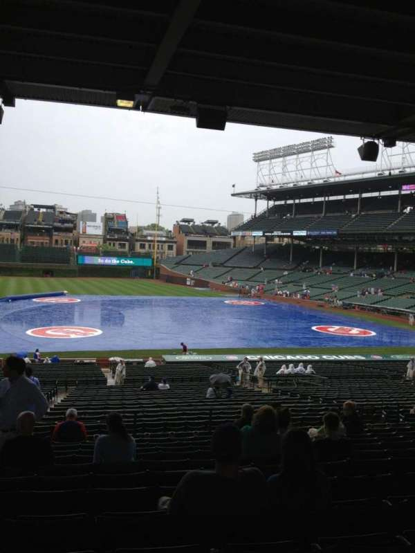 Wrigley Field, section: 211, row: 12, seat: 4