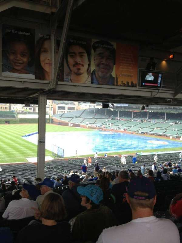 Wrigley Field, section: 207, row: 21, seat: 9
