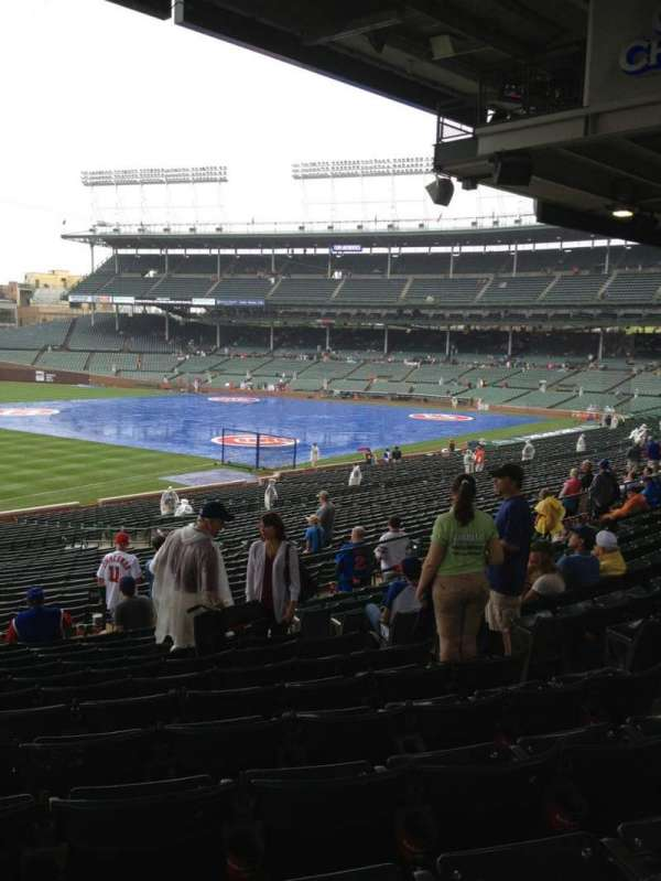 Wrigley Field, section: 205, row: 12, seat: 18
