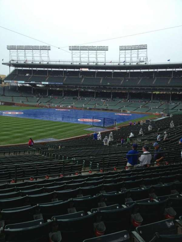 Wrigley Field, section: 205, row: 9, seat: 10