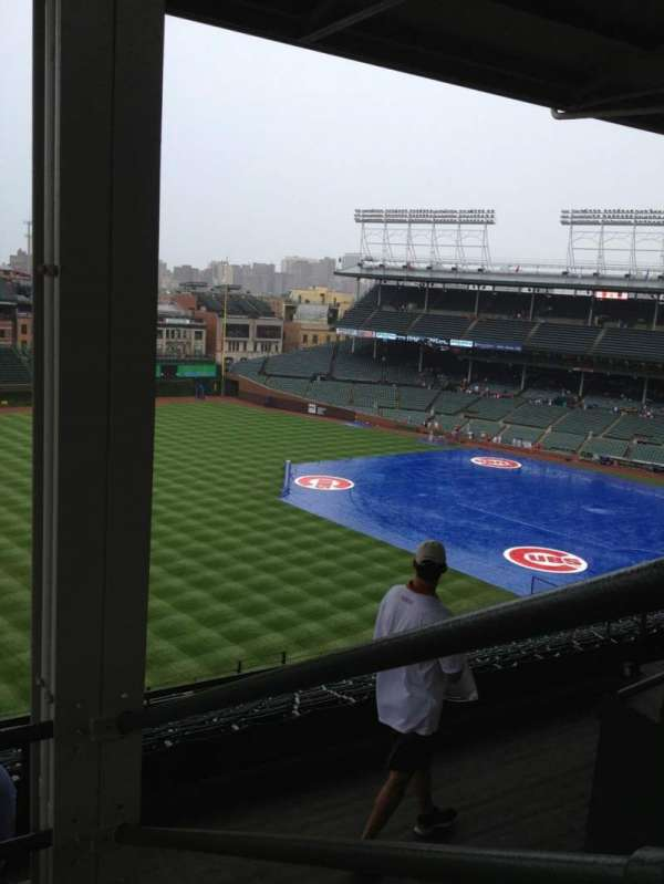 Wrigley Field, section: 403L, row: 3, seat: 3