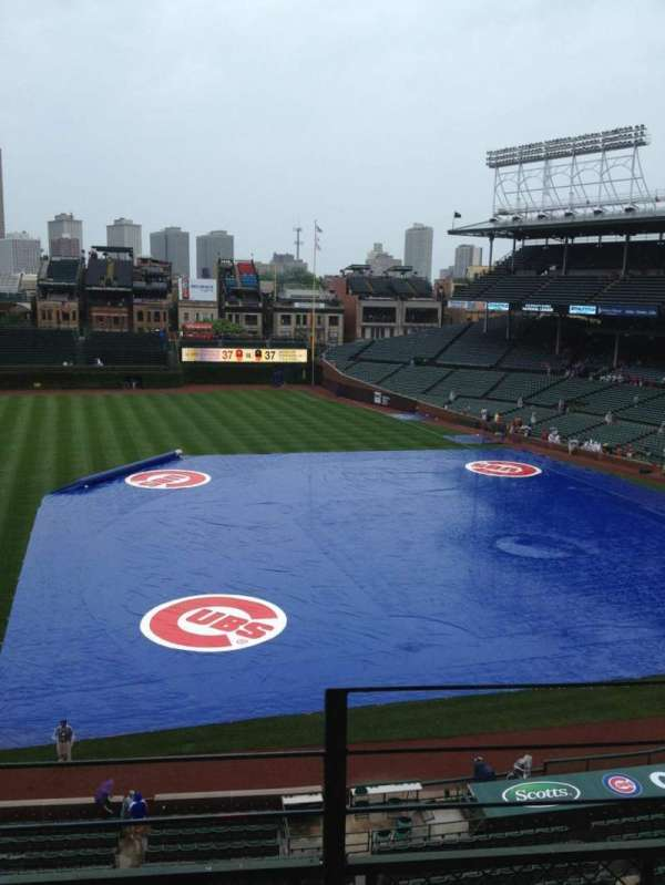 Wrigley Field, section: 308L, row: 3, seat: 24