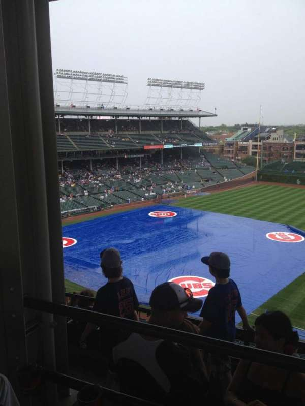Wrigley Field, section: 428R, row: 2, seat: 4
