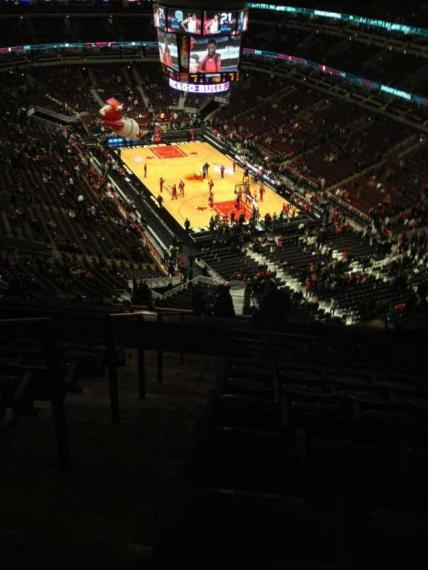 United Center, section: 311, row: 16, seat: 23