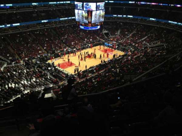 United Center, section: 304, row: 14, seat: 22