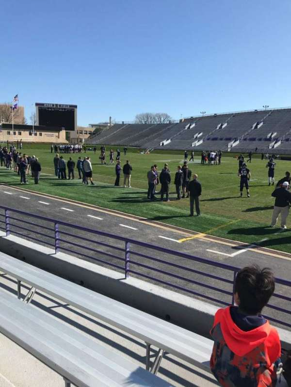 Ryan Field, section: 127, row: 4, seat: 4