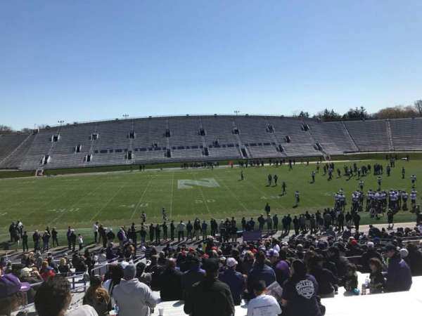 Ryan Field, section: 129, row: 38, seat: 22