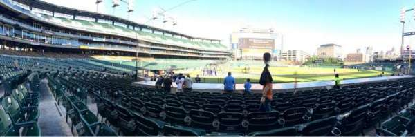 Comerica Park, section: 123, row: 15, seat: 9