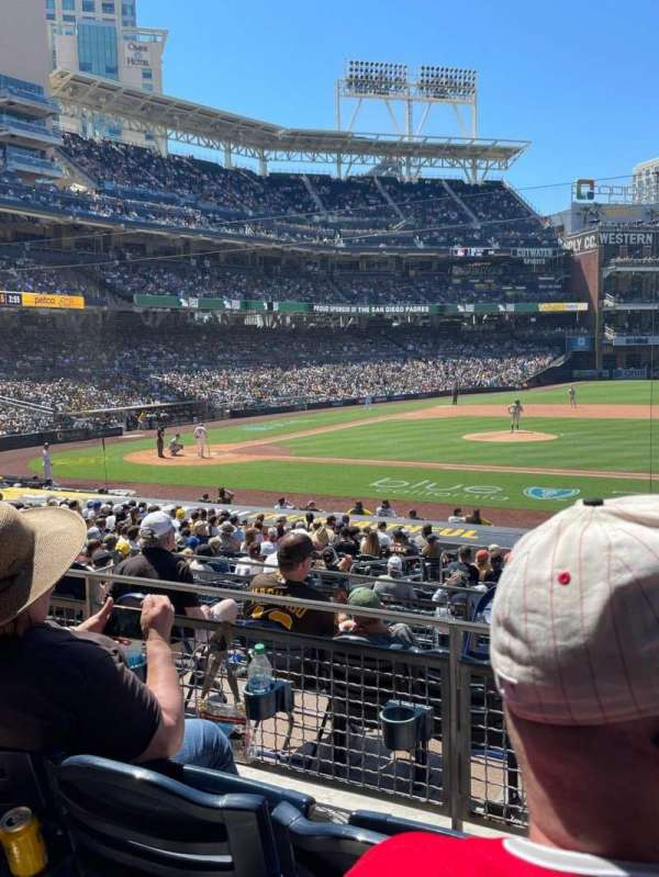 PETCO Park, section: 109, row: 28, seat: 9