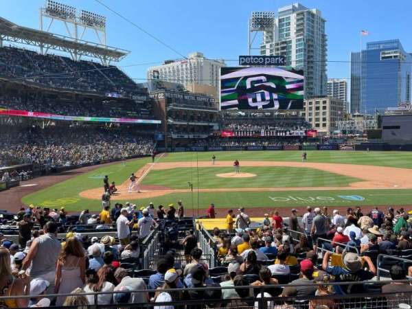 PETCO Park, section: L, row: 1, seat: 6
