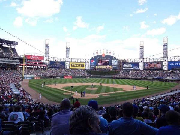 Guaranteed Rate Field, section: 131, row: 35, seat: 14