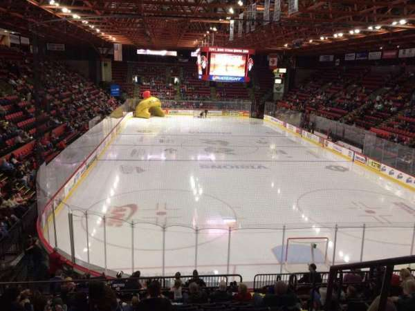 Floyd L. Maines Veterans Memorial Arena, section: 23, row: J, seat: 1