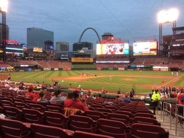 Busch Stadium, section: 153, row: 16, seat: 1